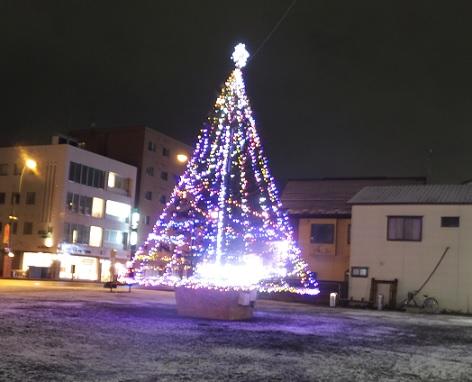 お元気広場のツリー