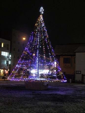お元気広場のツリー2