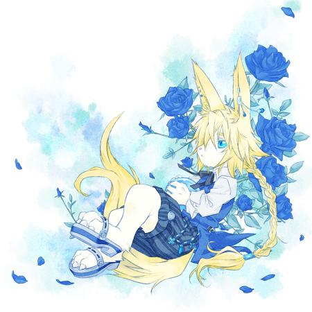 青薔薇と少年s