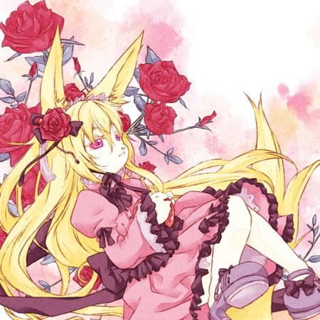 赤薔薇と少女
