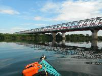 新幹線の鉄橋