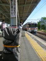 いつもの大曽根駅 これも最後