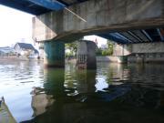白鳥橋の古い橋げた