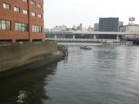朝の出撃場所と水所警察と水上観光船
