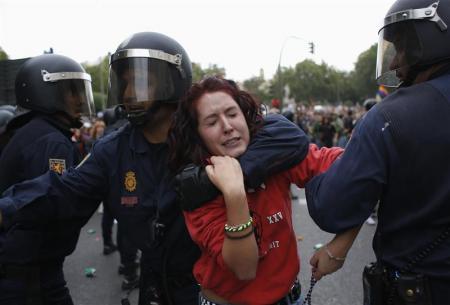 9.25スペイン国会前