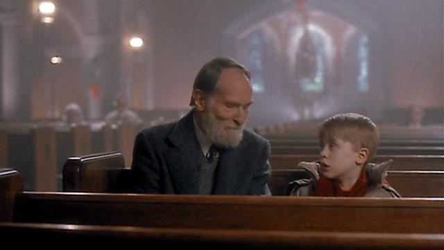 教会でのマーリーとケビン