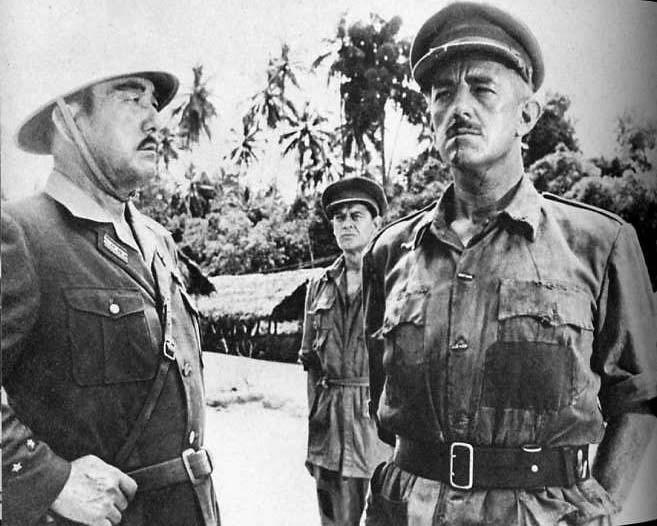 ニコルソン大佐と斉藤大佐