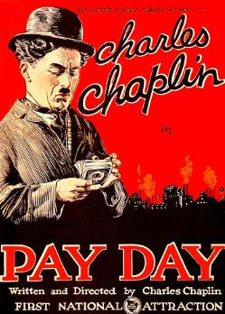 チャップリンの給料日