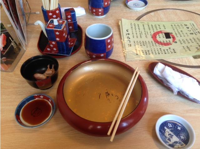 前沢牛寿司食った後w