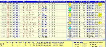 天皇賞秋 2012 母父ノーザン