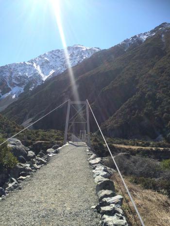 近づいて見た第1の橋
