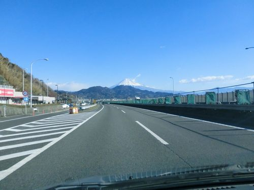車窓からの富士山21450