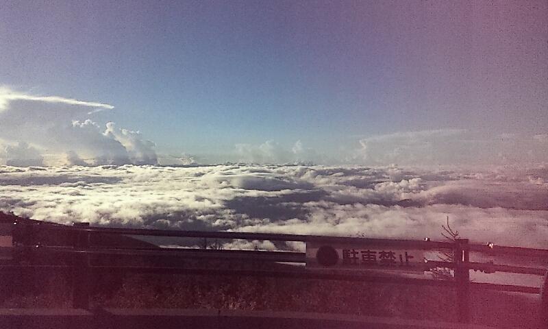 富士山なう