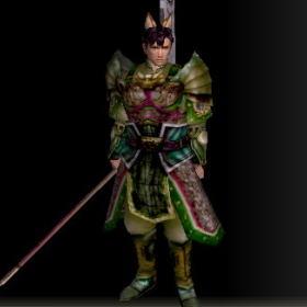 戦士の具足改装具 緑 前