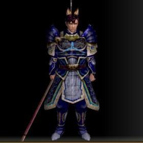 戦士の具足改装具 青 前
