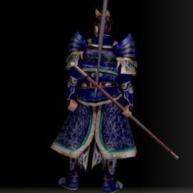 戦士の具足改装具 青 後