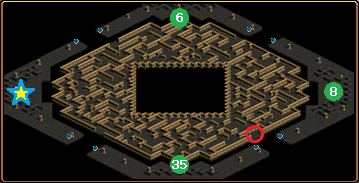 ハイランド洞窟B2地図
