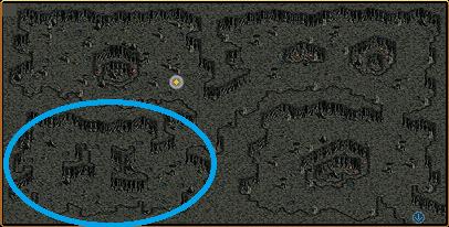 芋虫部屋の異能体MOB出現箇所