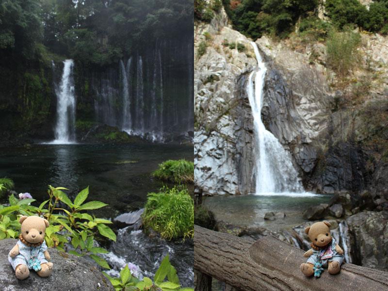 白糸の滝&布引の滝