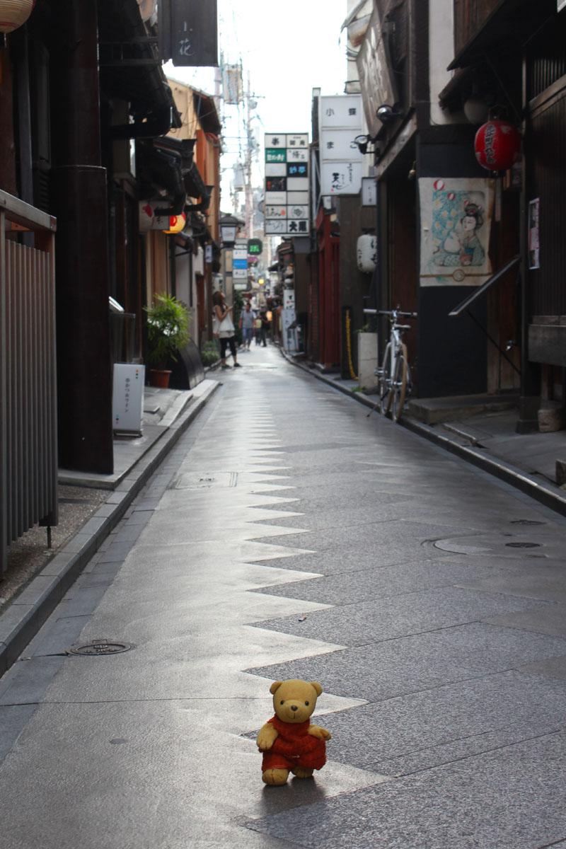 くまちゃんと歩こう 120909