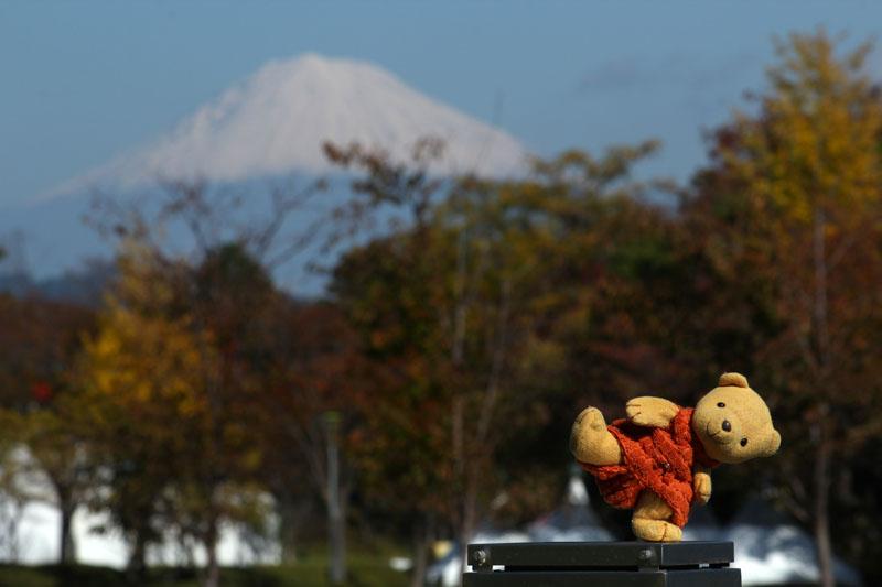 立冬の富士山と 2