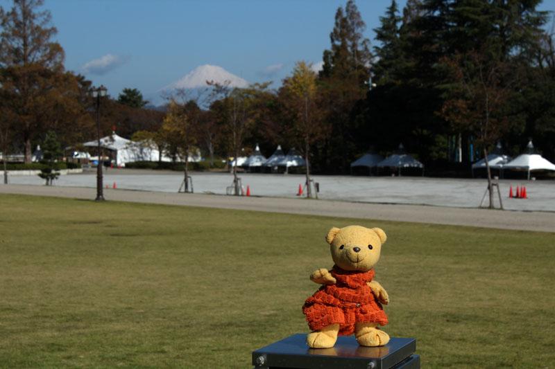 立冬の富士山と 1