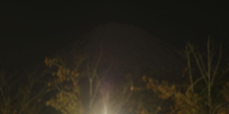 富士山・月光浴 121129