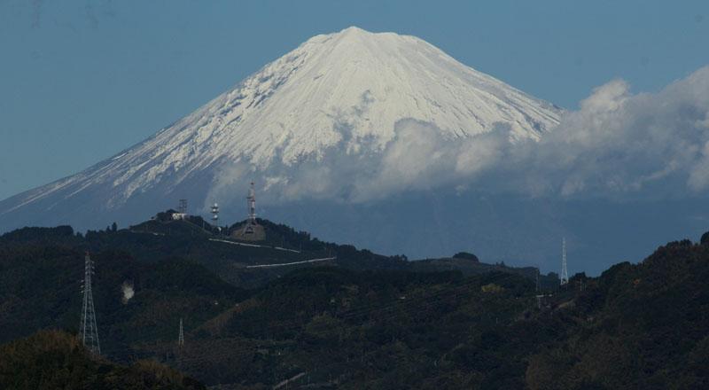 午後の富士山 2012年11月27日