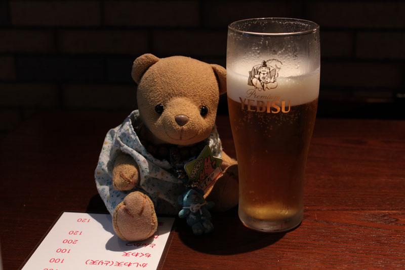 エビスビールと 1006