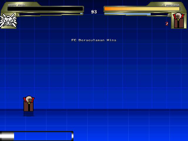 防衛システム(easy)対ドラキュラマン1