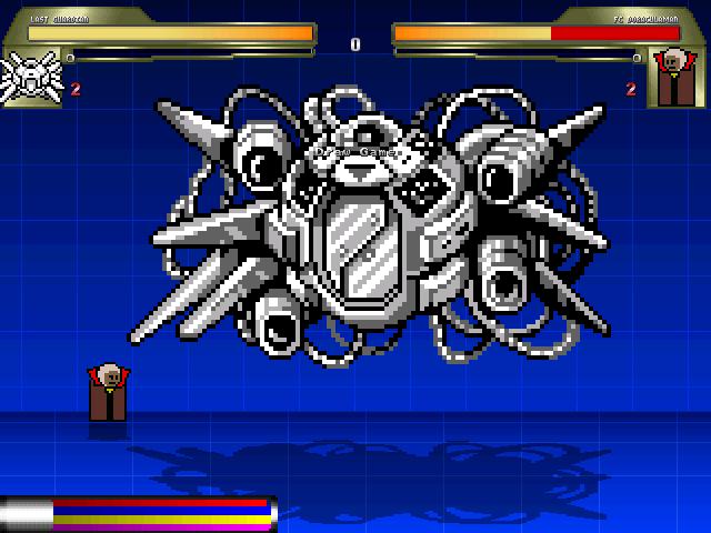 最終防衛システム対ドラキュラマン1