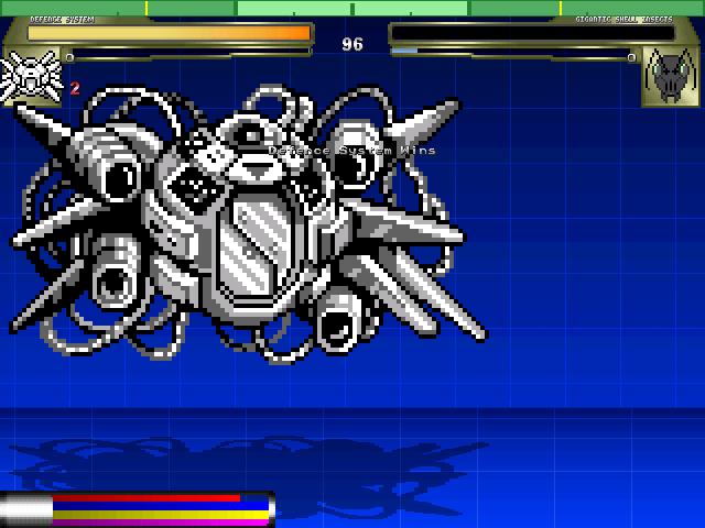 防衛システム(easy)対巨大生物1