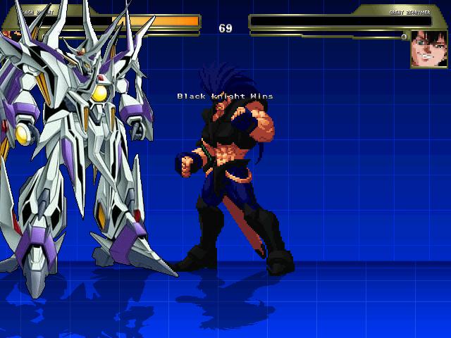 黒騎士対ゼオライマー1