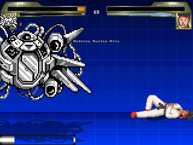 カンフーノキワミマン対防衛システム(easy)2