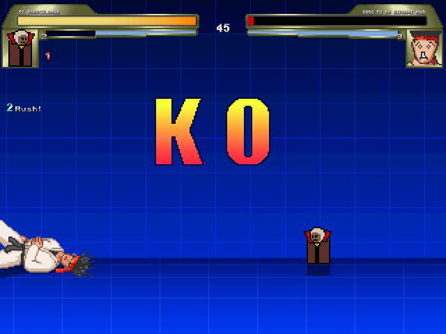 カンフーノキワミマン対ドラキュラマン2
