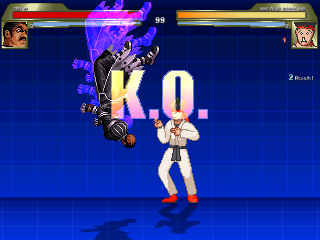 CゼロSS対カンフーノキワミマン1