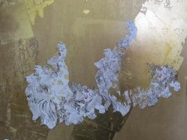 信楽寺障壁画表面部分