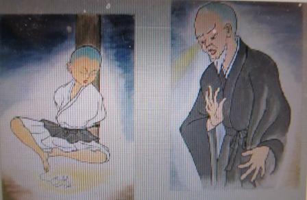 雪舟さん紙芝居画