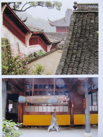 天童寺境内