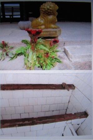 天童寺鶏頭とトイレ