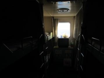 船内の6人部屋