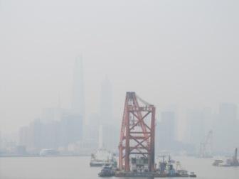 上海の河口