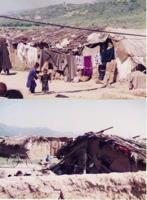 パキスタン難民部落