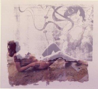 雷神と裸婦