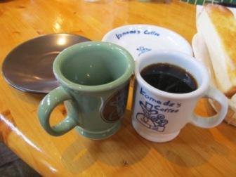コメダのコーヒーカップ