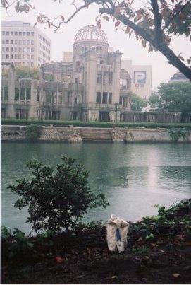 採取された広島の土