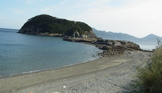 奈留島の海岸風景