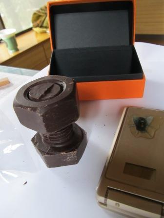 ボルト型チョコ