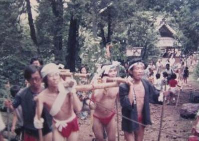尾張富士石上げ祭り