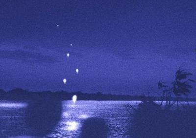 メコン川 火の玉